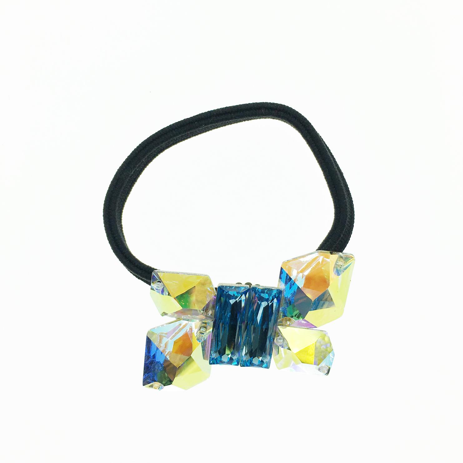 水晶 寶石 切割面 閃耀 髮飾 髮圈 採用施華洛世奇水晶元素 Crystals from Swarovski