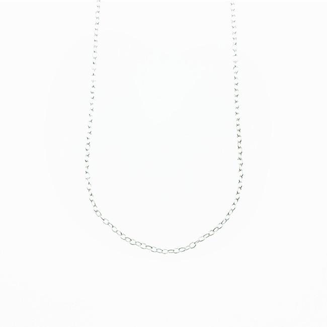 925純銀 簡約風 基本款 百搭 素鍊 項鍊