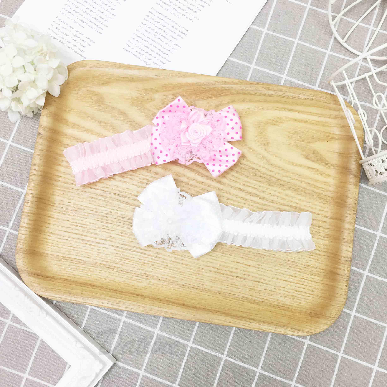 甜美公主系 髮帶 點點 蕾絲 花朵 兒童髮飾