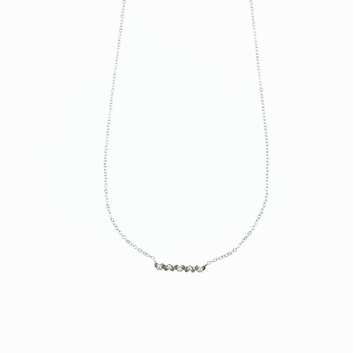 韓國 水鑽 愛心 百搭款 甜美 精緻 項鍊