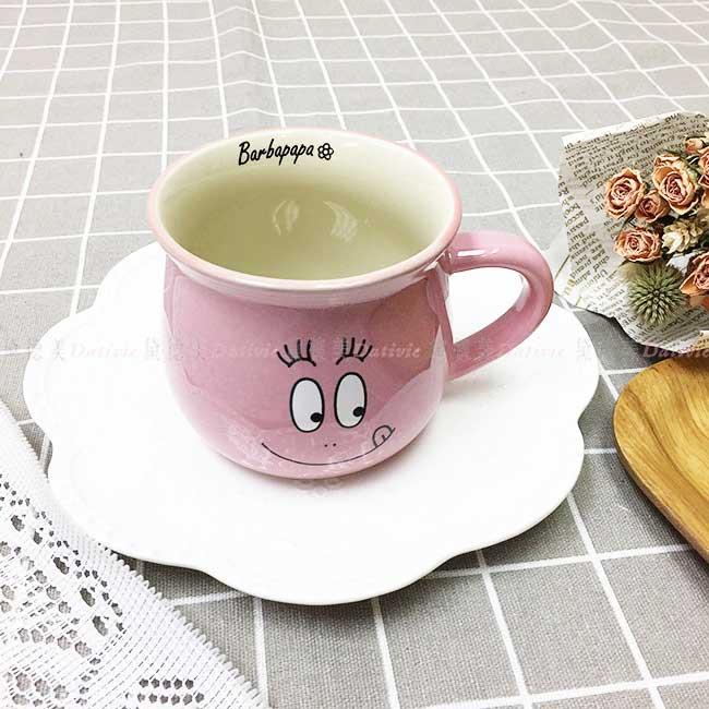 馬克杯 泡泡先生 BARBAPAPA 水杯 茶杯 杯子 寬口 正版授權