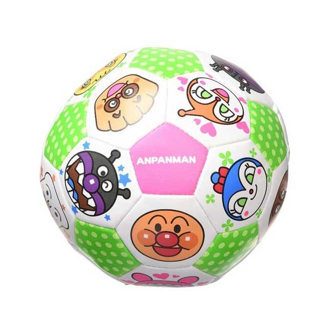 小皮球 麵包超人 Anpanman 軟式足球 玩具 柔軟材質 孩童適用 正版日本進口