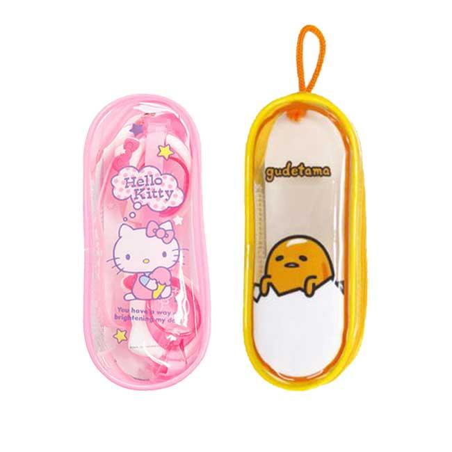兒童蛙鏡 三麗鷗 Hello Kitty 蛋黃哥 夏日 戲水 游泳 潛水 兒童用 正版韓國進口