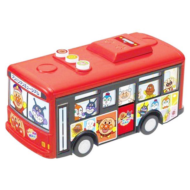 玩具 麵包超人 角色 巴士 造型 有聲 音樂 兒童 互動 電池使用 正版日本進口授權