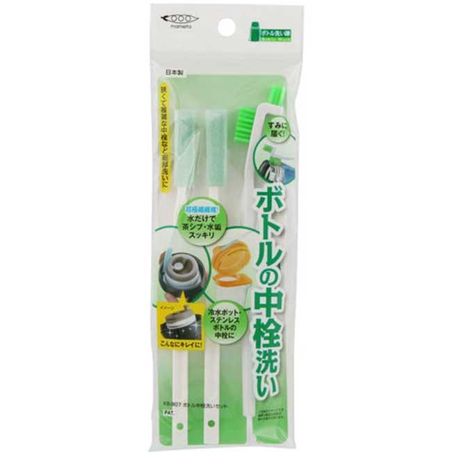 細節刷 小刷子  中栓 纖維 清洗劑 細纖維 正版日本製