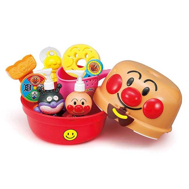 兒童玩具 日本 麵包超人 ANPANMAN 塑膠玩具 洗澡玩具 日本進口正版授權