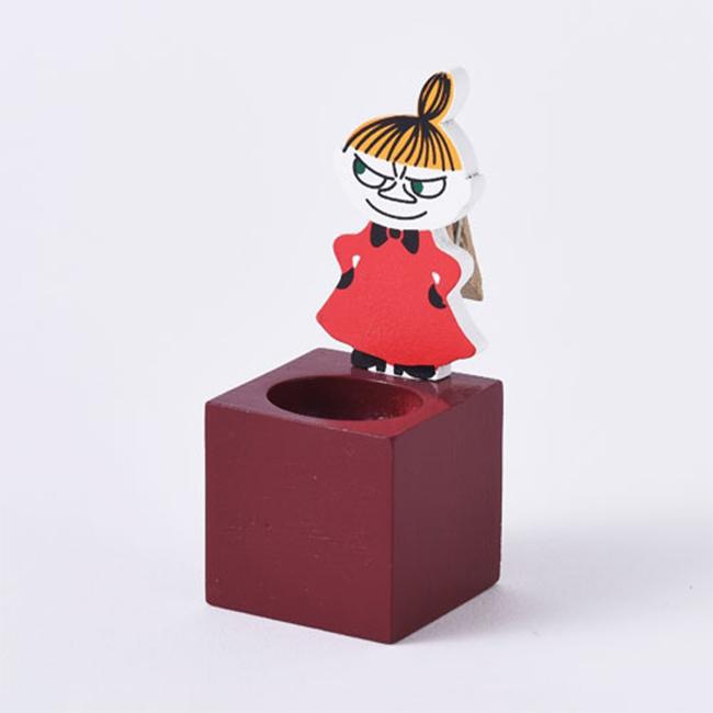 便條夾 嚕嚕咪 小不點 造型 辦公桌 小物 收納盒 正版日本進口授權