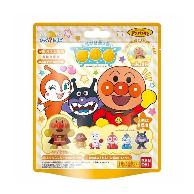 沐浴球 麵包超人 大家的好朋友篇 綜合水果味 造型 公仔 入浴劑 75g 正版日本進口授權