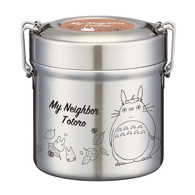 餐盒 宮崎駿 龍貓 480ml 多層 輕量 真空 餐具 便當盒 正版日本進口授權