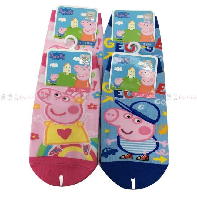 襪子 佩佩豬 粉紅豬小妹 直版襪 12~14 15~22CM 兩款 正版授權