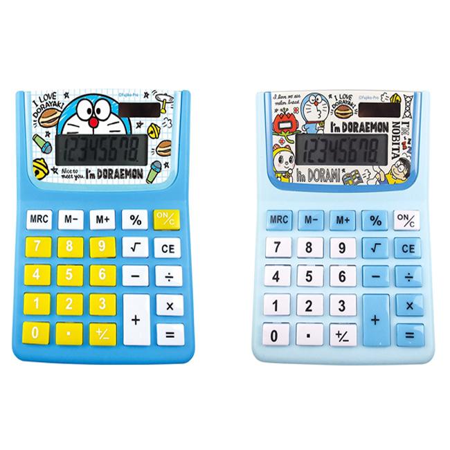 計算機 三麗鷗 哆啦A夢 銅鑼燒 藍色 文具 電算機 日本進口正版授權
