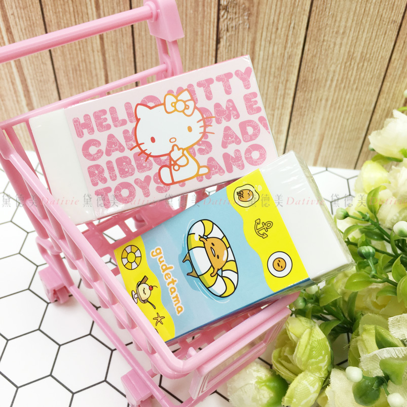 三麗鷗 橡皮擦 kitty 蛋黃哥 兩款選 正版授權
