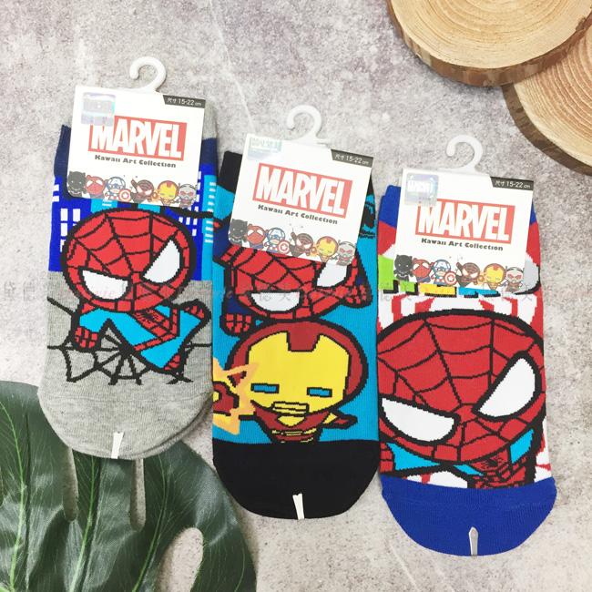 襪子 英雄系列 15~22cm 22~26cm 短襪 六款選 正版授權