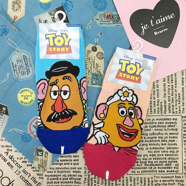 迪士尼 玩具總動員15~22cm 22~26cm 短襪 兒童 成人 卡通襪 兩款 正版授權