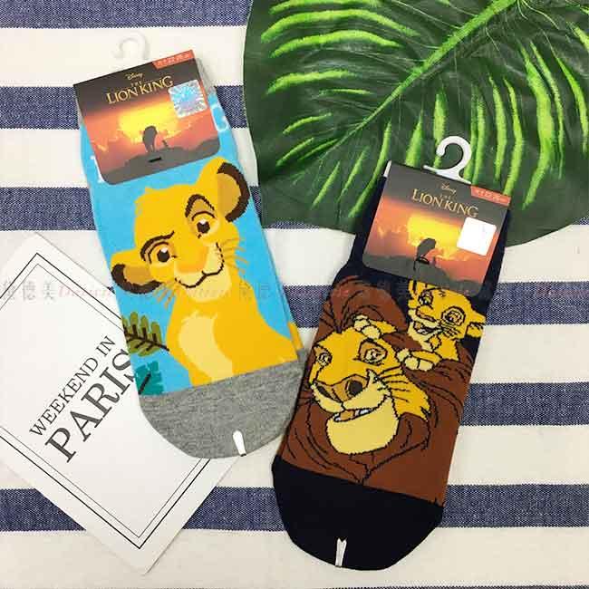 迪士尼 獅子王15~22cm 22~26cm短襪 兒童 成人 卡通襪 兩款 正版授權