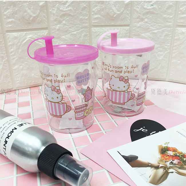 水杯 KITTY 三麗鷗 吸管水杯 兩款 正版授權