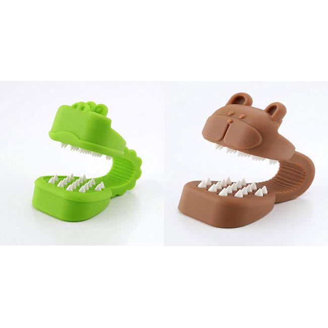 可愛動物造型防護磨碎器 鱷魚 熊 兩款 日本製造進口