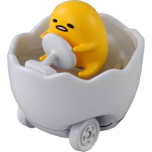 造型玩具車 三麗鷗 蛋黃哥 蛋殼造型 TOMICA蛋黃哥玩具車 日本進口正版授權