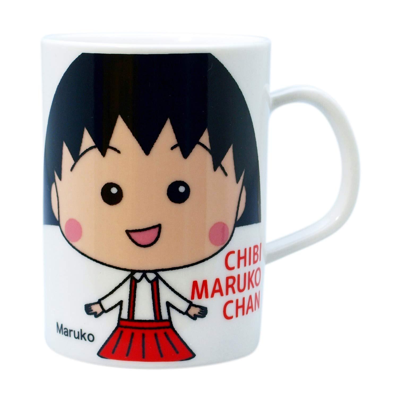 馬克杯 日本 櫻桃小丸子 卡通人物 白色 杯子 日本進口正版授權