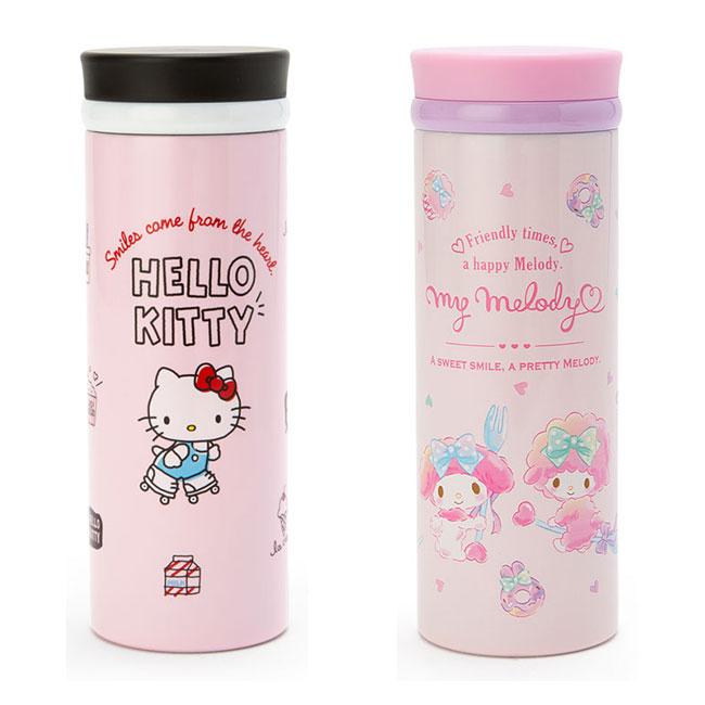 真空保溫冷瓶 三麗鷗 Hello kitty 美樂蒂 340ml 保溫冷壺 日本進口正版授權