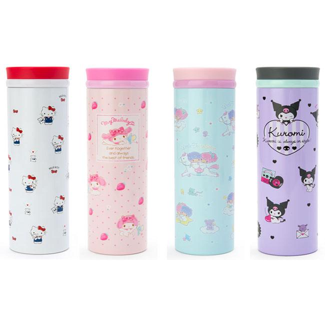 真空保溫冷瓶 三麗鷗 kitty 美樂蒂 kikilala 酷洛米 4款 460ml 保溫冷壺 日本進口正版授權