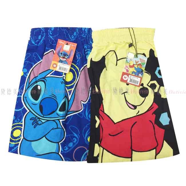 內褲 迪士尼 M碼 四角褲 兩款 正版授權