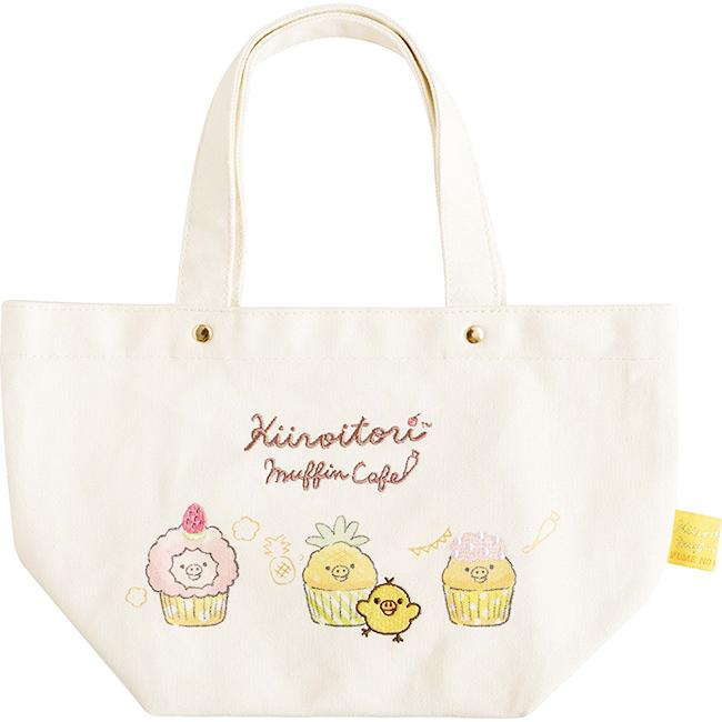 手提袋 SAN-X 小雞 黃色 帆布袋 正版日本進口授權