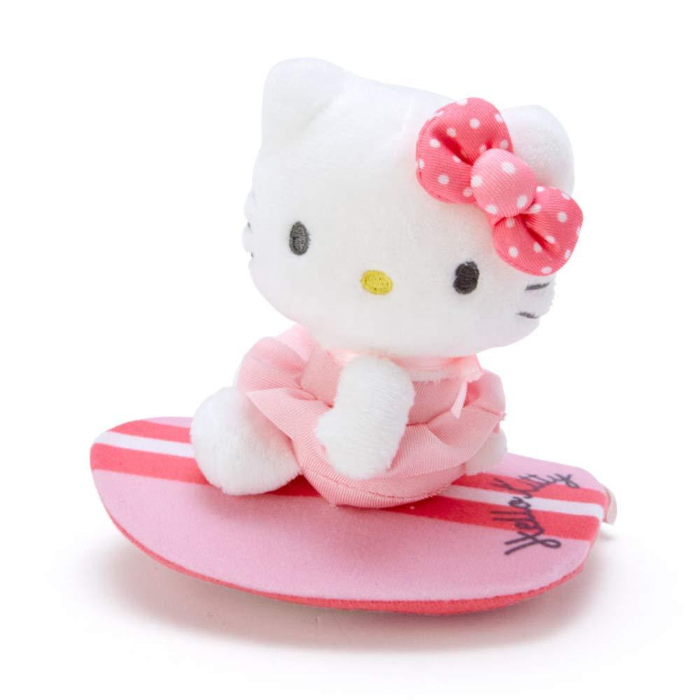 衝浪娃娃 三麗鷗 Hello Kitty 凱蒂貓 點點蝴蝶結 滾輪衝浪板 娃娃 日本進口正版授權
