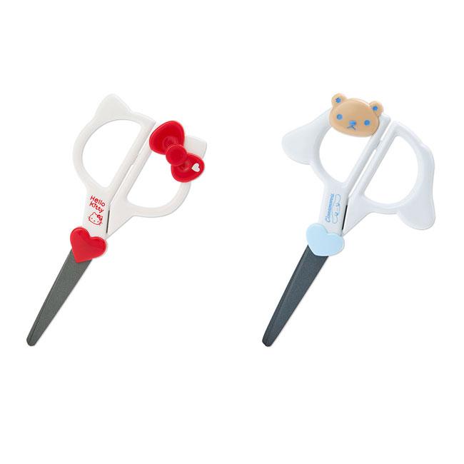 造型剪刀 三麗鷗 Hello Kitty 趴恰狗 2款 簍空造型愛心剪刀 日本進口正版授權