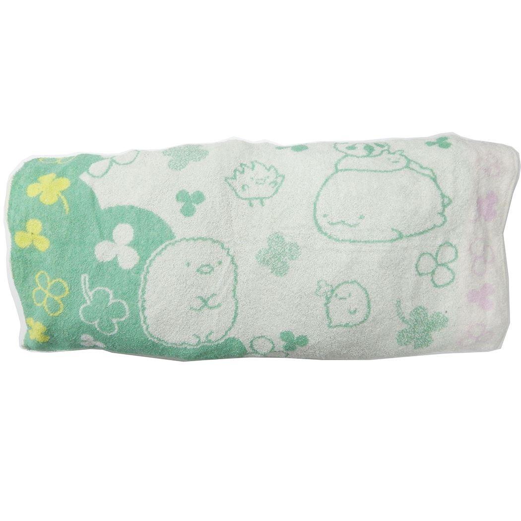 毛巾布枕頭套 SAN-X 角落生物 蝸牛 熊 貓 造型枕頭套 日本進口正版授權