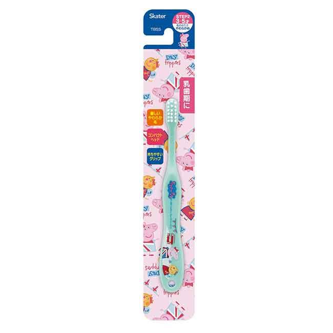 兒童牙刷  佩佩豬 3~5才適用  日本進口正版授權