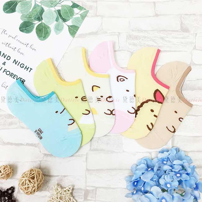 隱形襪 SAN-X 角落生物 角落小夥伴 6款 矽膠 22~26cm 止滑襪 正版授權