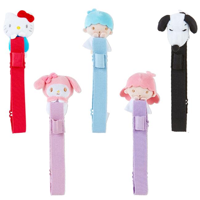 束帶 三麗鷗 HELLO KITTY 玩偶造型 日誌本造型束袋 日本進口正版授權