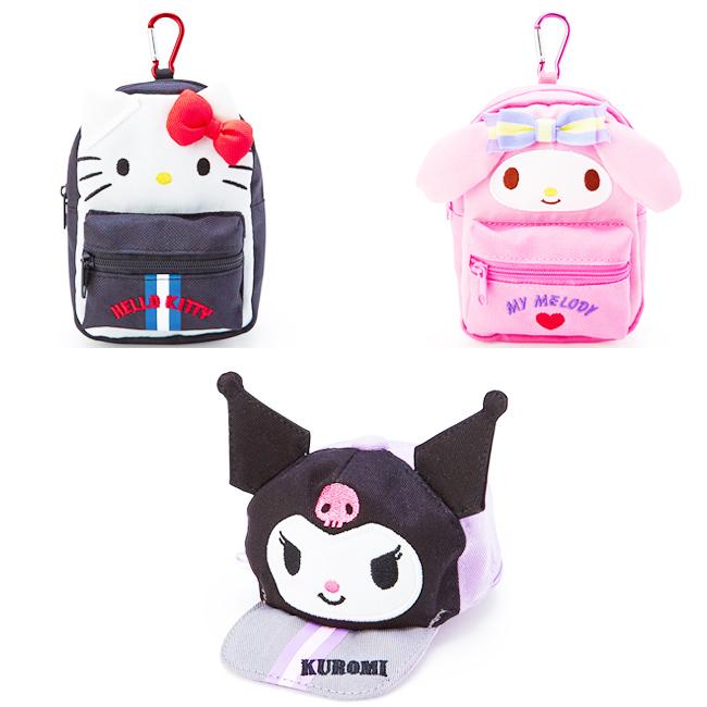 收納包 三麗鷗 HELLO KITTY 美樂蒂 酷洛米 玩偶造型 迷你造型收納包 日本進口正版授權