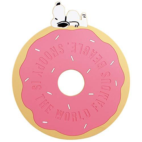 隔熱墊 Snoopy 史努比 圓形 中簍空 造型隔熱墊 日本進口正版授權