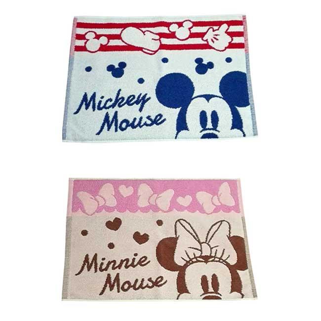 地墊 迪士尼 Disney 米奇 米尼 蝴蝶結 愛心 2款 造型地墊 日本進口正版授權