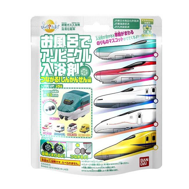 沐浴球 新幹線 洗澡用品 造型沐浴球 日本進口正版授權