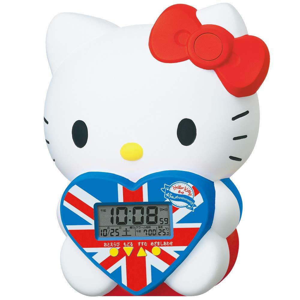 電子鐘 三麗鷗 Hello Kitty 凱蒂貓 KT貓 45th 內附電池 造型電子鐘 日本進口正版授權