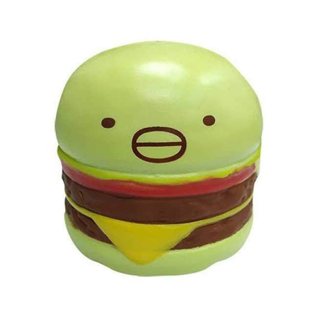 漢堡紓壓玩具 SAN-X 角落生物 角落小夥伴 漢堡造型 紓壓小物 日本進口正版授權