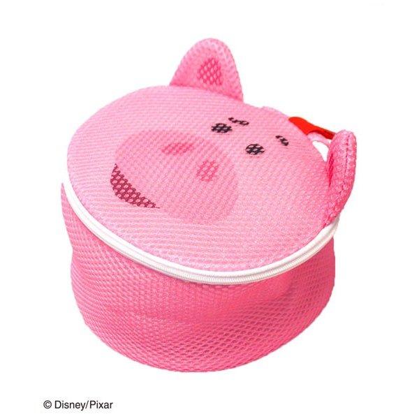 洗衣網 迪士尼 皮克斯系列 玩具總動員4 火腿豬造型洗衣網 日本進口正版授權