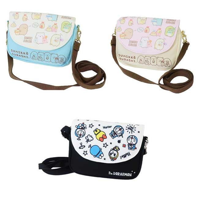手機觸控背包 SAN-X 哆啦A夢 小叮噹 角落生物 角落小夥伴 3款 肩背包 側背包 日本進口正版授權