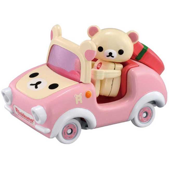 玩具車 SAN-X 懶懶熊 拉拉熊 KORILAKKUMA TOMICA 造型玩具車 日本進口正版授權