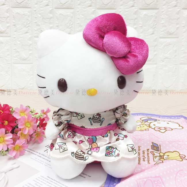 娃娃 三麗鷗 Hello Kitty 凱蒂貓 KT貓 洋裝 蝴蝶結 造型娃娃 日本進口正版授權