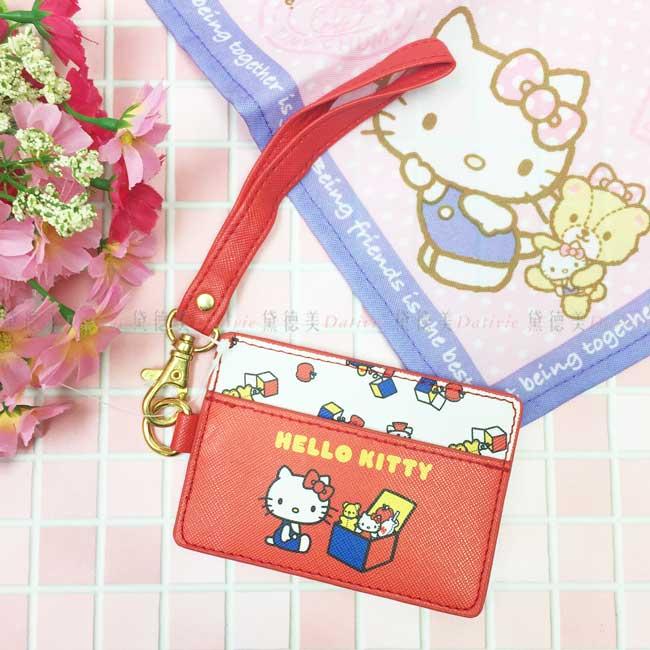 票卡套 三麗鷗 Hello Kitty 凱蒂貓 KT貓 票卡夾 悠遊卡套 日本進口正版授權