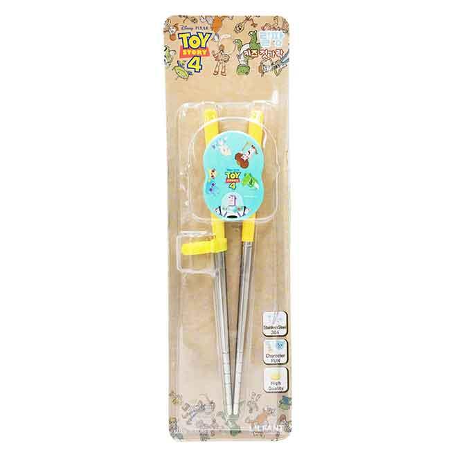 筷子 迪士尼 皮克斯系列玩具總動員4 巴斯 胡迪 暴暴龍 兒童學習筷 韓國進口正版授權