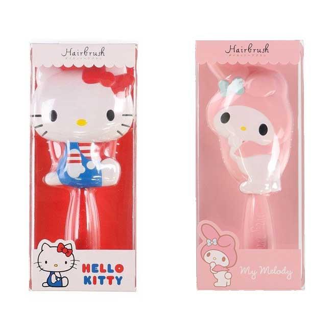 梳子 三麗鷗 Hello KItty 凱蒂貓 KT貓 美樂蒂 造型梳子 日本進口正版授權