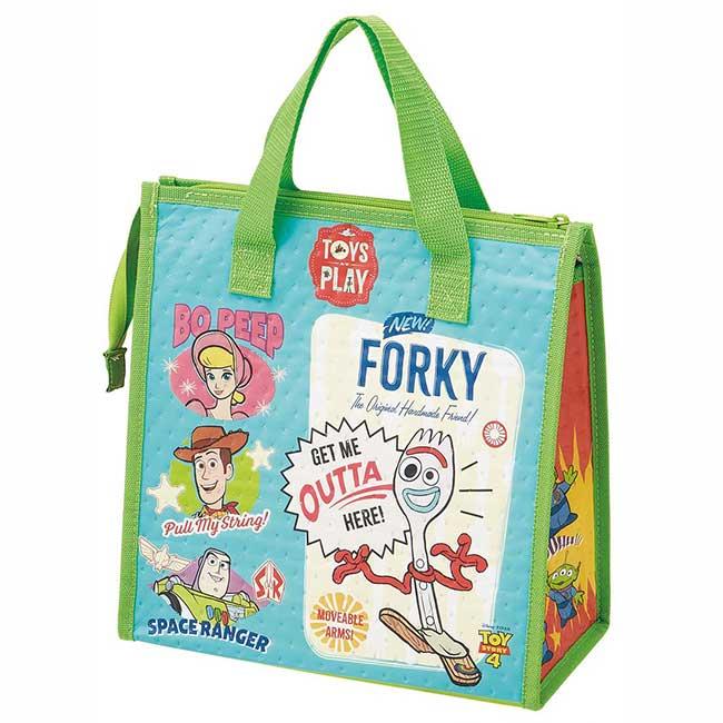 保溫冷提袋 迪士尼 皮克斯 玩具總動員4 胡迪 巴斯光年 卡通造型保冷袋 日本進口正版授權