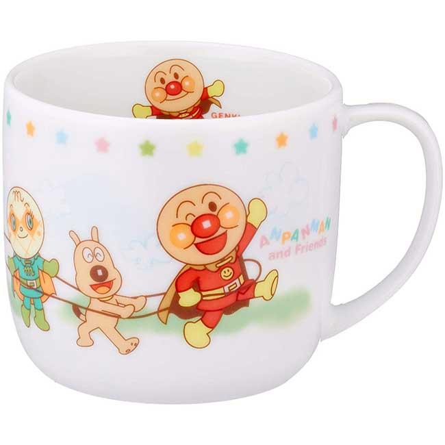 陶瓷水杯 日本 麵包超人 200ml 可愛卡通造型杯子 日本進口正版授權