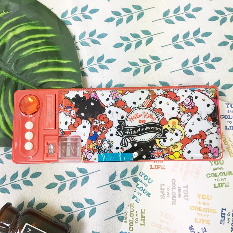 Hello Kitty 機關式鉛筆盒 三麗鷗 正版授權