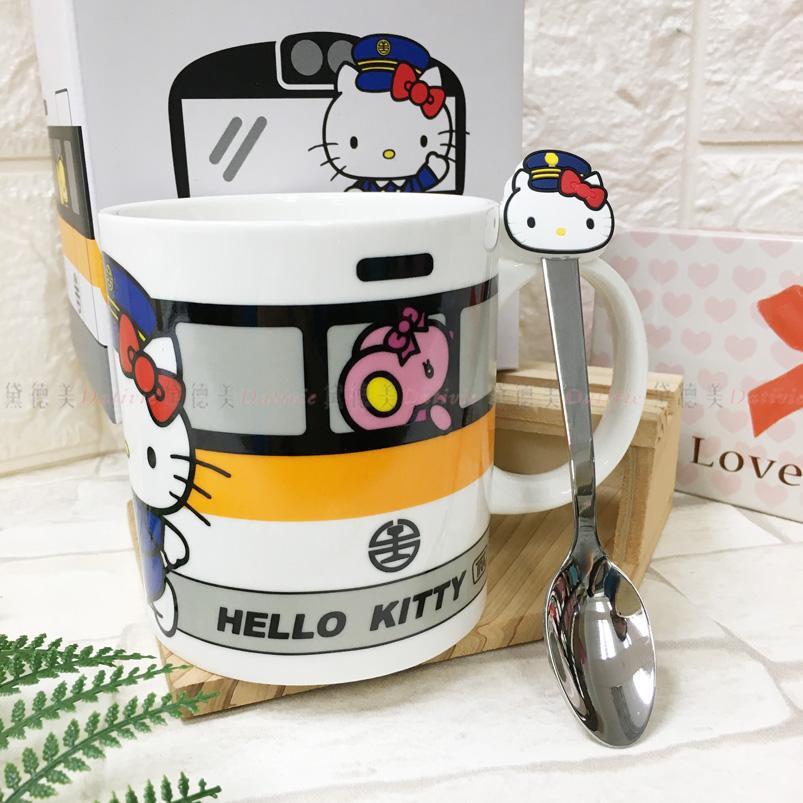 Hello Kitty 新太魯閣列車馬克杯組 正版授權